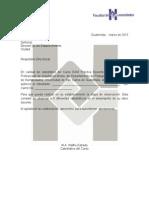 Carta Práctica 2015