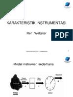 Karakteristik Instrumentasi