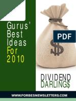 FORBES Gurus Best Ideas for 2010