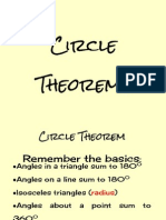 The Circle Theorems