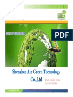 Air Green Cleaning Machine Catalog