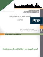 Aula 08 Planejamento Da Paisagem -Diagnóstico de Fortaleza