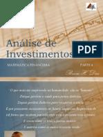 Análise de Investimentos_Aula Matemática Financeira_parte 4