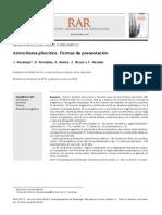 Astrocitoma pilocítico. Formas de presentación