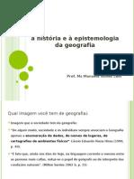 2 Contribuições à História e à Epistemologia Da Geografia