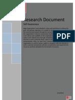 Self Awareness Individual Organization