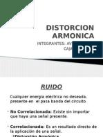 Distorcion Armonica (Thd)