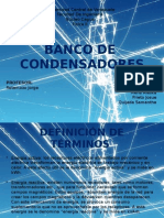 Banco de Condensadores