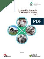 Producción Pecuaria 2013