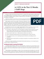 Investmentu Gold's Surge