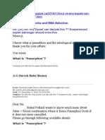 Punerphoo and DBA Selection