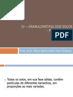 6 – Granulometria Peneiramento 2014