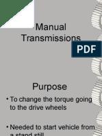Manual Transmissions