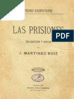 Kropotkin - Las Prisiones 1897 (traducido por Azorín)
