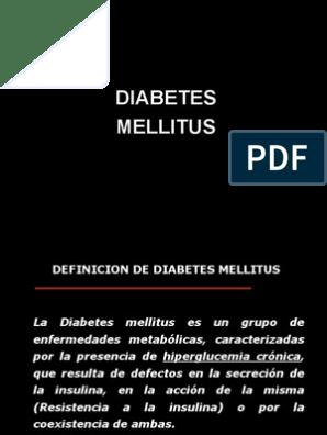 definición de diabetes con resistencia a la insulina