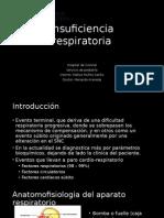 Insuficiencia respiratoria - pediatria