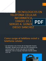 Avances Tecnologicos en Telefonia Celular