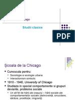 Scoala de La Chicago Studii Clasice