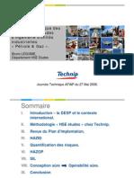 Analyse des risques  - Technip documentation