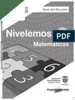 Guía Matemáticas 4
