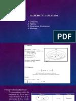 Matematica  Aplicada  para Estadistica