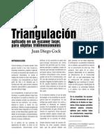 Escaneo 3D por triangulación. 970-3010-1-PB