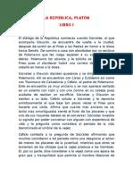 La República de Platon 1y2- Resumen