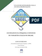 Livro de Resumos VIII Encontro da SBEEL