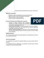 Crear Proyecto Con MS PROJECT