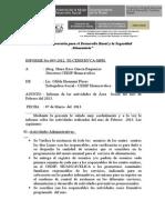 Informe Activi. No 006-2010-Mayo