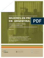 MUJERES EN PRISIÓN EN ARGENTINA