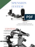 suspension system presentation by prashant mathur