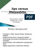 phillips vs masushita Philips vs matsushita scm - slidesharenet.