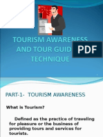 Tourism Awareness and Tour Guiding