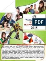 Summer_Training Details- 2015