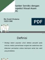 Skrining CA Cervix Dgn IVA-bio
