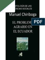 El Problema Agrario Del Ecuador Manuuel Chiriboga