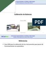 Calibración de Balanzas-SIM