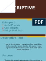 Descriptve Text (Group 3 - UNIS)