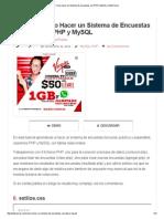 Como Hacer Un Sistema de Encuestas Con PHP y MySQL _ WebTursos