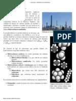 Hidrocarburo - Wikipedia, La Enciclopedia Libre