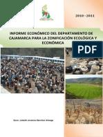 Aspectos Productivos Región Cajamarca