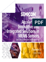 Accelerating Innovative and Integrated Solutions in Mems Sensors Freescale 091514DL