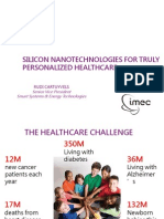 Silicon Nanotechnologies for Truly Personalized Healthcare Imec 091514DL
