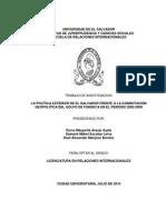 Geopolitica Del Golfo de Fonseca