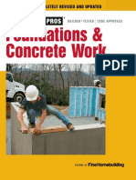 Fine Homebuilding - Foundations and Concrete Work Revised and Updated