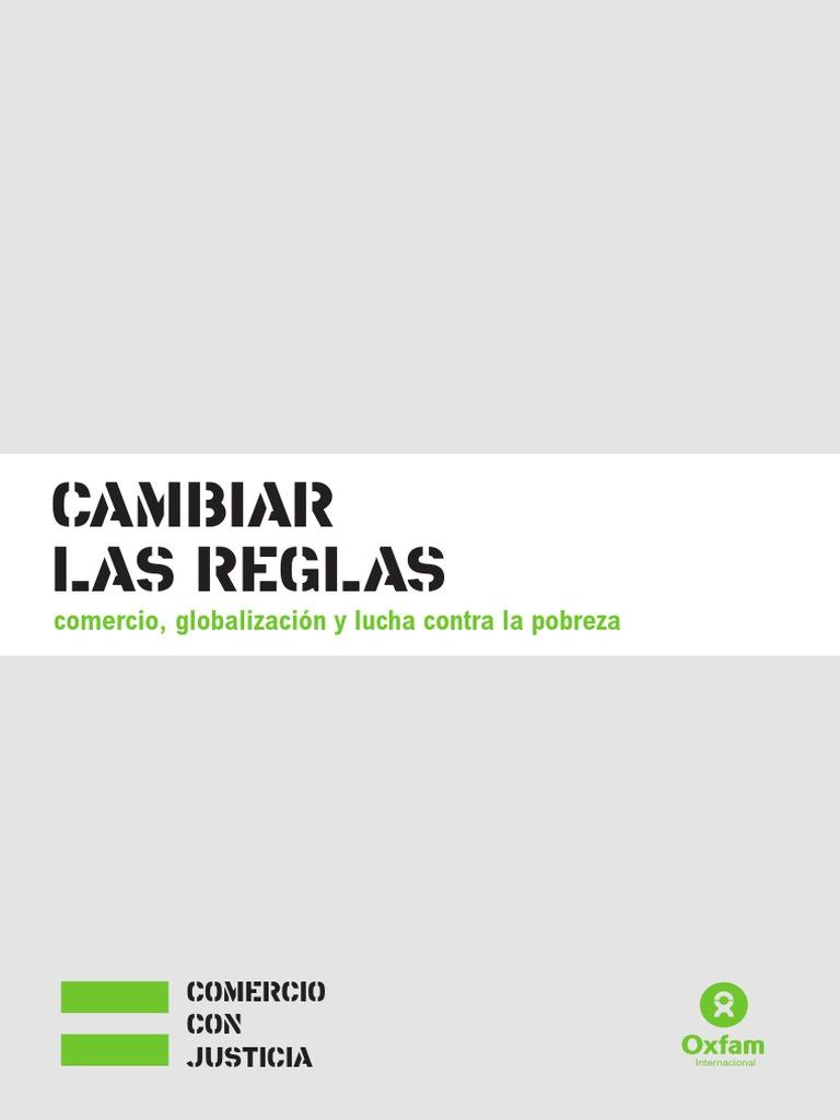 new arrival cdb71 5a119 Cambiar Las Reglas Oxfam