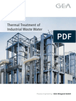 Thermal Treatment Industrial Wastewater