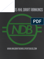 NHL Draft Board 2015 Draft Rankings