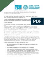 Declaration Ministre Du Logement